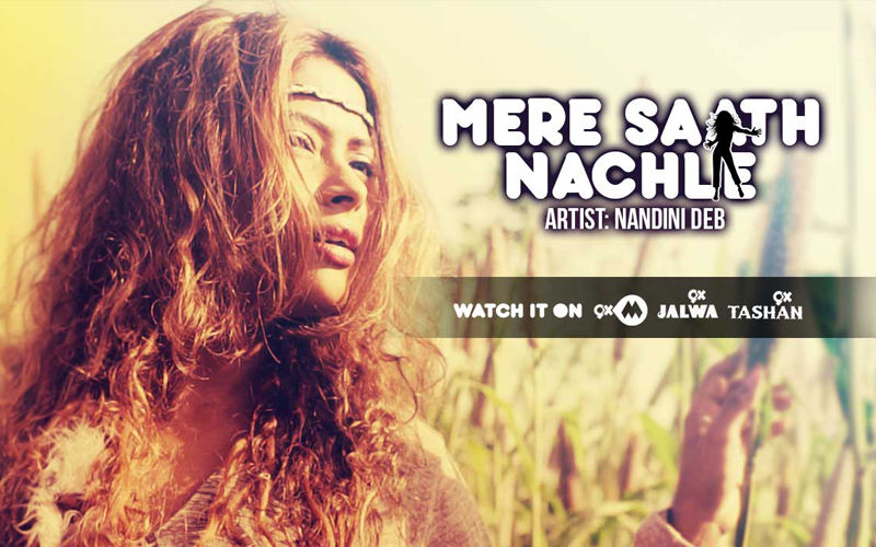 Mere Saath Nachle Out Now: Nandini Deb Packs A Punch In SpotlampE.com's New Song