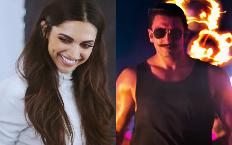 """Hot Lag Raha Hai"" Is What Deepika Padukone Said On Seeing Ranveer Singh As Simmba"
