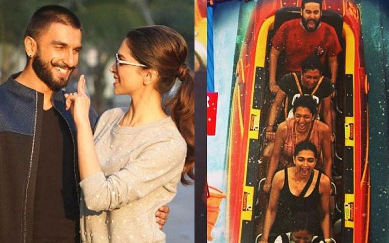 Look How Ranveer Singh Crashed Deepika Padukone's Bachelorette In Orlando- View Pics