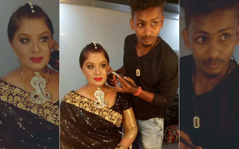 Shocking! Sudha Chandran's Make-Up Man Dies In Road Accident