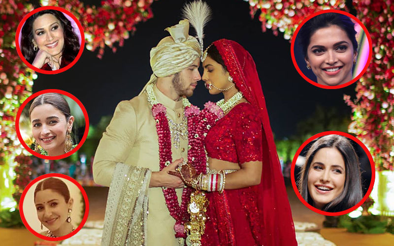 Sonali Bendre, Anushka Sharma, Deepika Padukone, Katrina Kaif, Alia Bhatt Congratulate Priyanka Chopra-Nick Jonas On Their Wedding