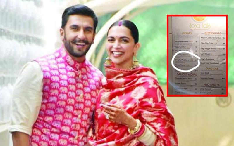 दीपिका पादुकोण डोसा को ऑर्डर करना चाहते हैं रणवीर सिंह