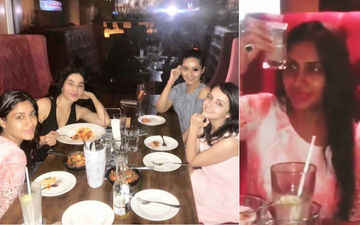 Ishqbaaaz Girl Gang Parties Hard: No Looking Back For Surbhi Chandna, Shrenu Parikh And Mansi Srivastava -- Inside Pics, Video