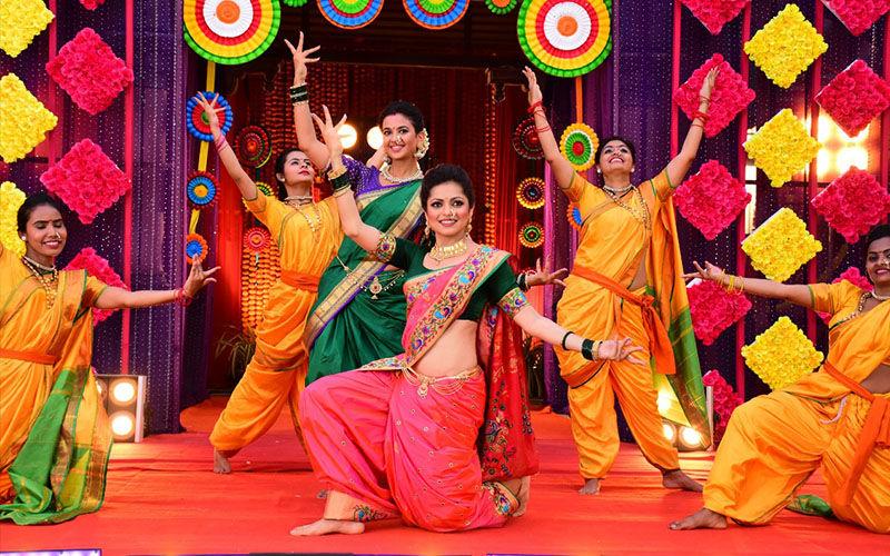 Drashti Dhami Packs In A Sizzling Dance Act As Marathi Mulgi On Gathbandhan's Special Gudi Padwa Episode
