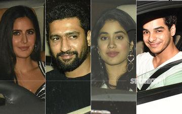 Katrina Kaif, Vicky Kaushal, Janhvi Kapoor, Ishaan Khatter And Many Others Celebrate Karan Johar's Birthday