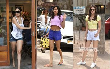 Malaika Arora, Janhvi Kapoor, Kriti Sanon- Which Diva's Shorts Look Impressed You The Most?