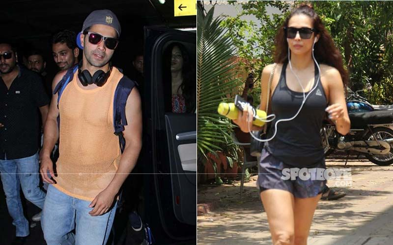 Celeb Spotting: Varun Dhawan's Killer Airport Look, Malaika Arora's Perfect Gym Attire