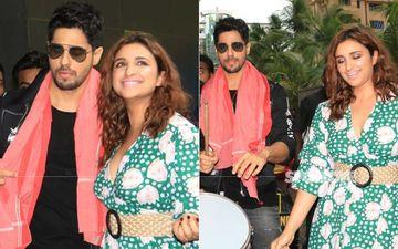 Jabariya Jodi Trailer Launch: Sidharth Malhotra And Parineeti Chopra Roll Out With Band Baaja