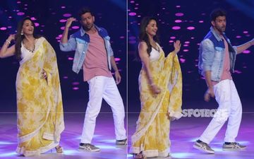 Dance Deewane 2: Madhuri Dixit-Hrithik Roshan Create Magic As They Shake A Leg Together On-Stage