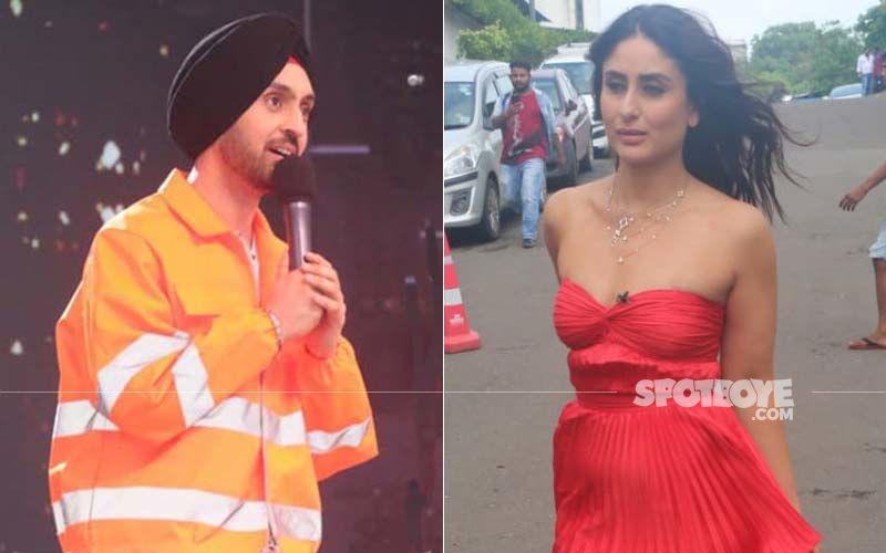 Kareena Kapoor Khan Reunites With Her Udta Punjab Co-Star Diljit Dosanjh On DID 7