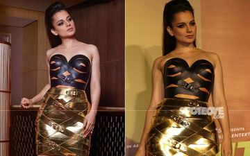Kangana Ranaut Is A Sass Queen As She Gears Up For Judgemental Hai Kya Trailer Launch; View Pics