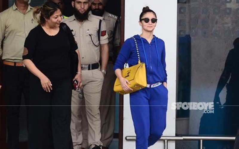 Alia Bhatt Rocks It In An All Blue Outfit- SEE PICS