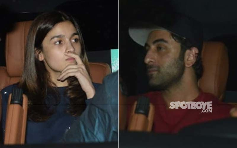 Alia Bhatt And Ranbir Kapoor Snapped Late Last Night; Their Candid Pictures Are Unmissable