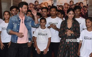 Hrithk Roshan And Mrunal Thakur Shake A Leg With NGO Kids As They Promote Super 30