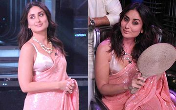 Kareena Kapoor Khan Will Make You Swoon In A Peach Saree As She Struts On The Sets Of Dance India Dance 7