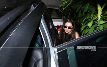Deepika Padukone Ducks Down Before Getting Into Her Car In Mumbai: View Photos