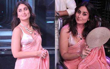 डांस इंडिया डांस 7 के सेट पर करीना कपूर खान का यह इंडियन लुक चुरा लेगा आपका दिल: देखिए तस्वीरें