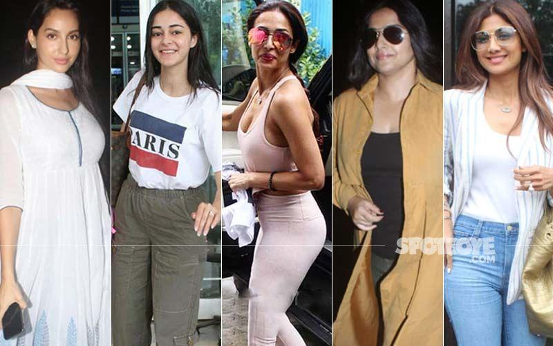 STUNNER OR BUMMER: Nora Fatehi, Ananya Panday, Malaika Arora, Vidya Balan Or Shilpa Shetty?
