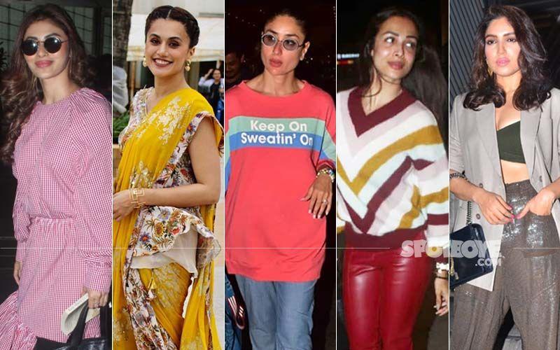 STUNNER OR BUMMER: Mouni Roy, Taapsee Pannu, Kareena Kapoor, Malaika Arora Or Bhumi Pednekar?