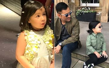 Happy Birthday Ziva Dhoni: 7 Cutesy Pics Of MS Dhoni-Sakshi Dhoni's Little Star