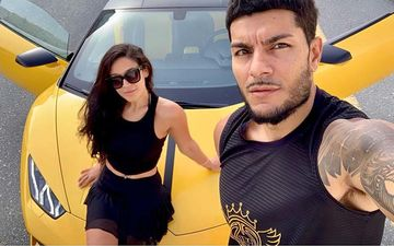 Krishna Shroff Scares The Hell Out Of BF Eban As She Races In A Lamborghini, Calls Him Her 'Ride Or Die'-VIDEO