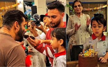 Salman Khan, Arpita Khan, Aayush Sharma Have A Blast At Ahil's 4th Birthday Party Held At Their Farmhouse-INSIDE PICS
