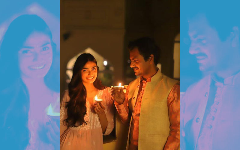 Nawazuddin Siddiqui's Sweet Treat For Diwali - A Picture With Athiya Shetty From Motichoor Chaknachoor