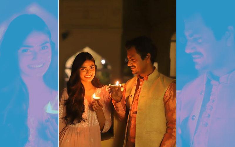Nawazuddin Siddiqui's Sweet Treat For Diwali - A Picture With Athiya Shetty From Motichoor Chaknachoor