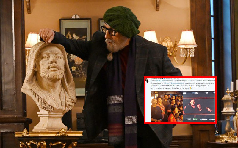 Amitabh Bachchan Delivers 14-Minute Take For Chehre In One Shot