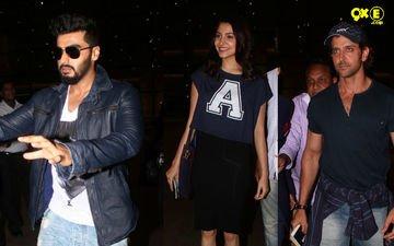 Hrithik, Arjun And Anushka Return From IIFA Awards 2015