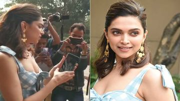 Chhapaak Promotions: Deepika Padukone Likes A Photographer's Phone, Glares At It Carefully – Video
