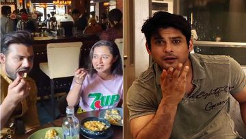 Bigg Boss 13's Rashami Desai-Vishal Aditya Singh Enjoy Some Pasta At Bastian; Singh Says 'Shukla Ji Hum Chor Nahi Hai'-Watch