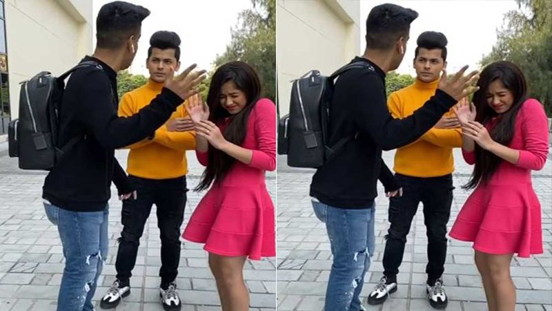 Whoa - Siddharth Nigam Gets All Protective Of Jannat Zubair As Someone Tries To To Slap Her; Watch Video