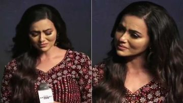 Sana Khaan Cries Inconsolably At Special OPS Trailer Launch; Emotions Run High Due To Breakup With Melvin Louis? - VIDEO