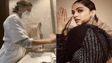 Deepika Padukone Takes The #SafeHands Challenge With A Mask On; Further Nominates Virat Kohli Among Others