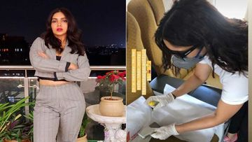 Paranoia Hits Bhumi Pednekar As She Sanitizes Seatbelts In The Aeroplane She Is Travelling In Amid Coronavirus Outbreak