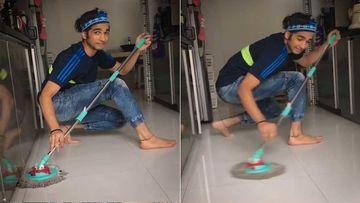 Nach Baliye 9's Shantanu Maheshwari Teaches How To Master The Art Of Doing 'Pocha' While In Quarantine-WATCH