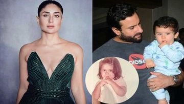 Kareena Kapoor Khan Opts For An Unseen Childhood DP For IG Debut; Has A Thumb-In-Mouth Similarity With Taimur