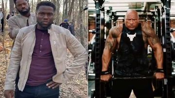 Kevin Hart Gears Up For Some Daredevil Stunts; Calls Dwayne The Rock Johnson A P***Y- VIDEO