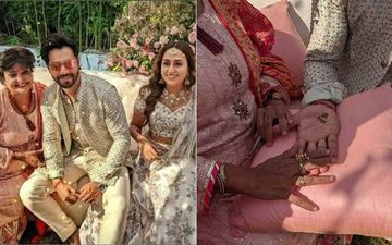 Varun Dhawan-Natasha Dalal's Mehendi: Varun Gets N Heart V Design On His Hand; Artist Shares UNSEEN Pics Of The Couple From The Intimate Ceremony
