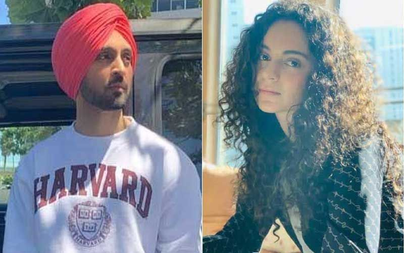 Diljit Dosanjh Sends Out His Day's Schedule After Kangana Ranaut Shares Her Activity And Asks #Diljit_Kitthe_aa On Twitter