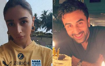 Alia Bhatt Cheers For Beau Ranbir Kapoor's Team Mumbai City FC For ISL 2020; Shares Pic Sporting Team Jersey As She Gets Ready For 'Game Time'