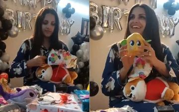 Bigg Boss 14's Himanshi Khurana Unwraps Birthday Presents From Fans; Thanks Them For The Love, Says 'I Can't Be More Grateful To You All'