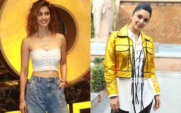 Disha Patani Performs Rigorous Shoulder And Back Workout, Flaunting Her Perfectly Toned Physique; Kiara Advani Feels The Actor Looks Hot Like Fire-WATCH