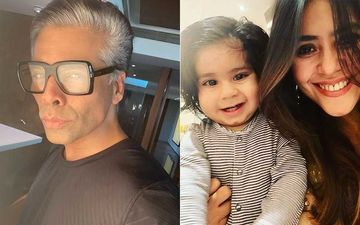 Karan Johar Spotted With Yash And Roohi; Accompanies Twins To Ekta Kapoor's Son Ravie's Birthday Bash-WATCH Video
