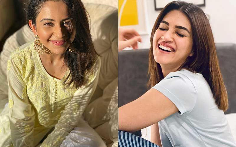Rakul Preet Singh Is 'Happiest' To Resume Work After COVID-19 Recovery; Kriti Sanon Shares Team Pic As She Kickstarts Shooting For Bachchan Pandey
