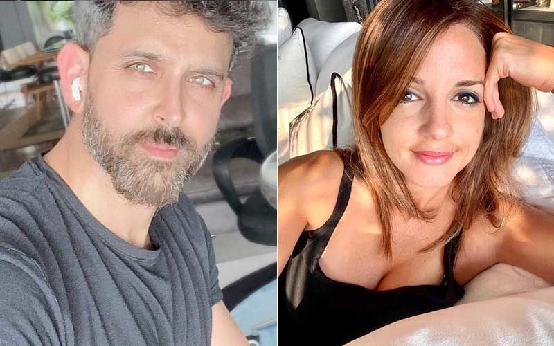 Hrithik Roshan Enters 2021 Learning A New Skill; Ex-Wife Sussanne Khan Finds Actor's Drone Selfies 'Very Cool'-WATCH
