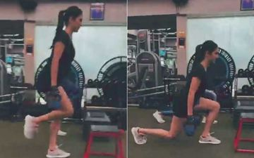 Katrina Kaif Is Back To Hitting The Gym; Shares Video Of Her Performing Some Intensely Rigorous Squats On Leg Day - WATCH