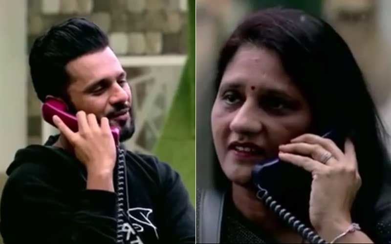 Bigg Boss 14: Rahul Vaidya's Mom Confirms There Is A Wedding On The Cards During Her Visit; Reveals Disha Parmar Came Home After His Proposal