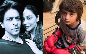 Shah Rukh Khan Reacts To Wife Gauri Khan's Post Featuring Boxer Son AbRam Khan; Actor Asks 'Where Was I?'